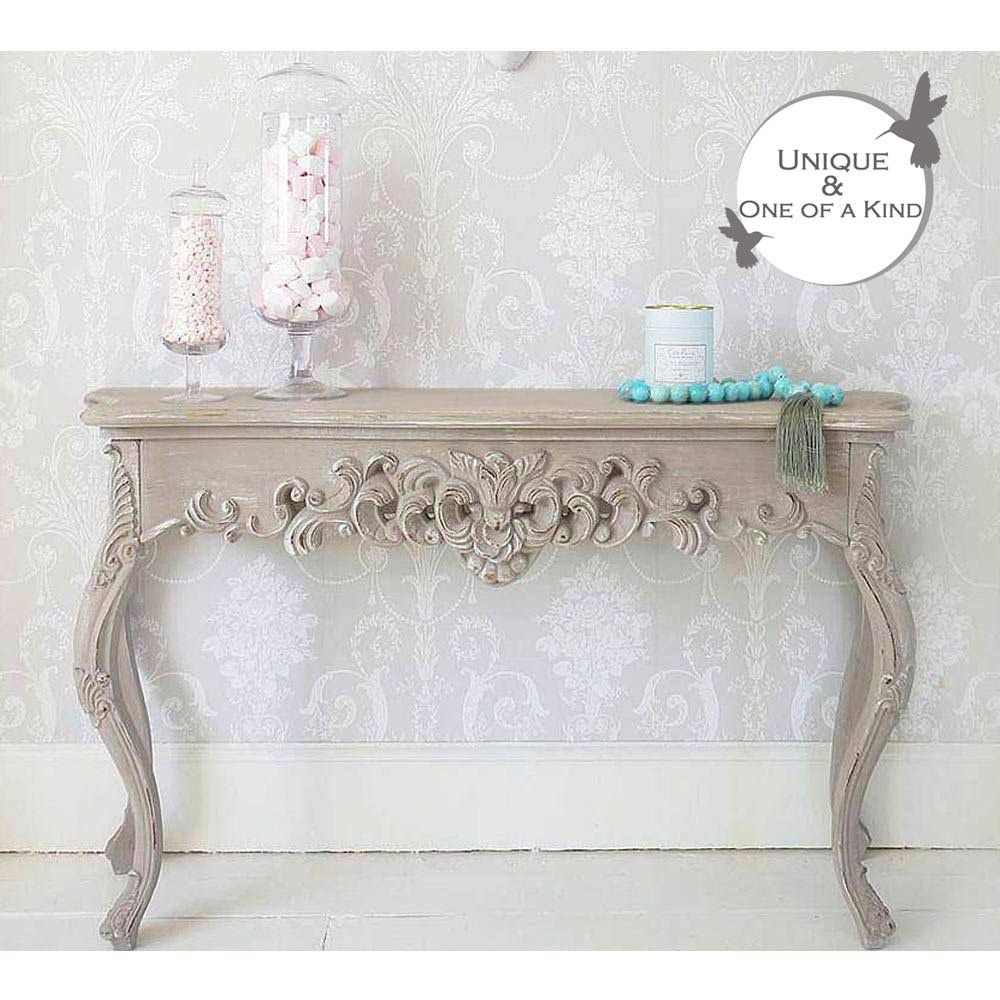 Grace Shabby Chic Console Table This Classic Shabby Chic Console