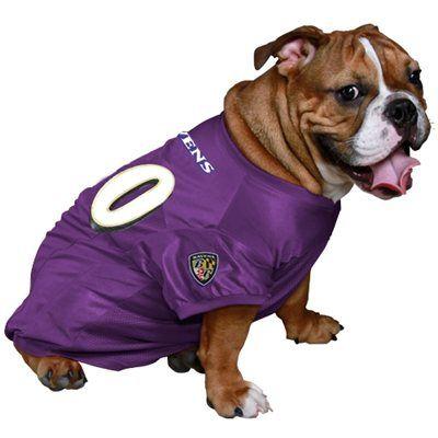 Baltimore Ravens 00 Mesh Pet Jersey Purple Dog Jersey