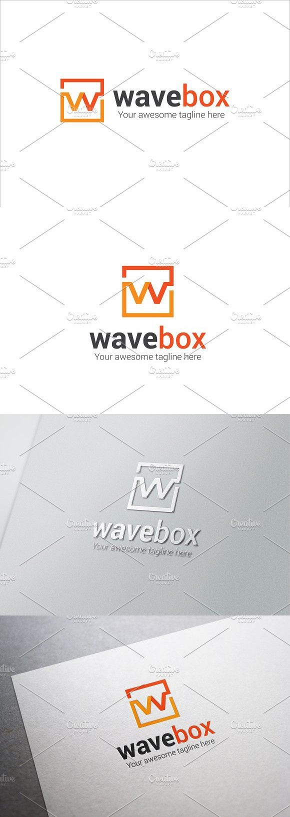 Wave Box W Letter Logo   Designer   Letter logo, Lettering, Logos