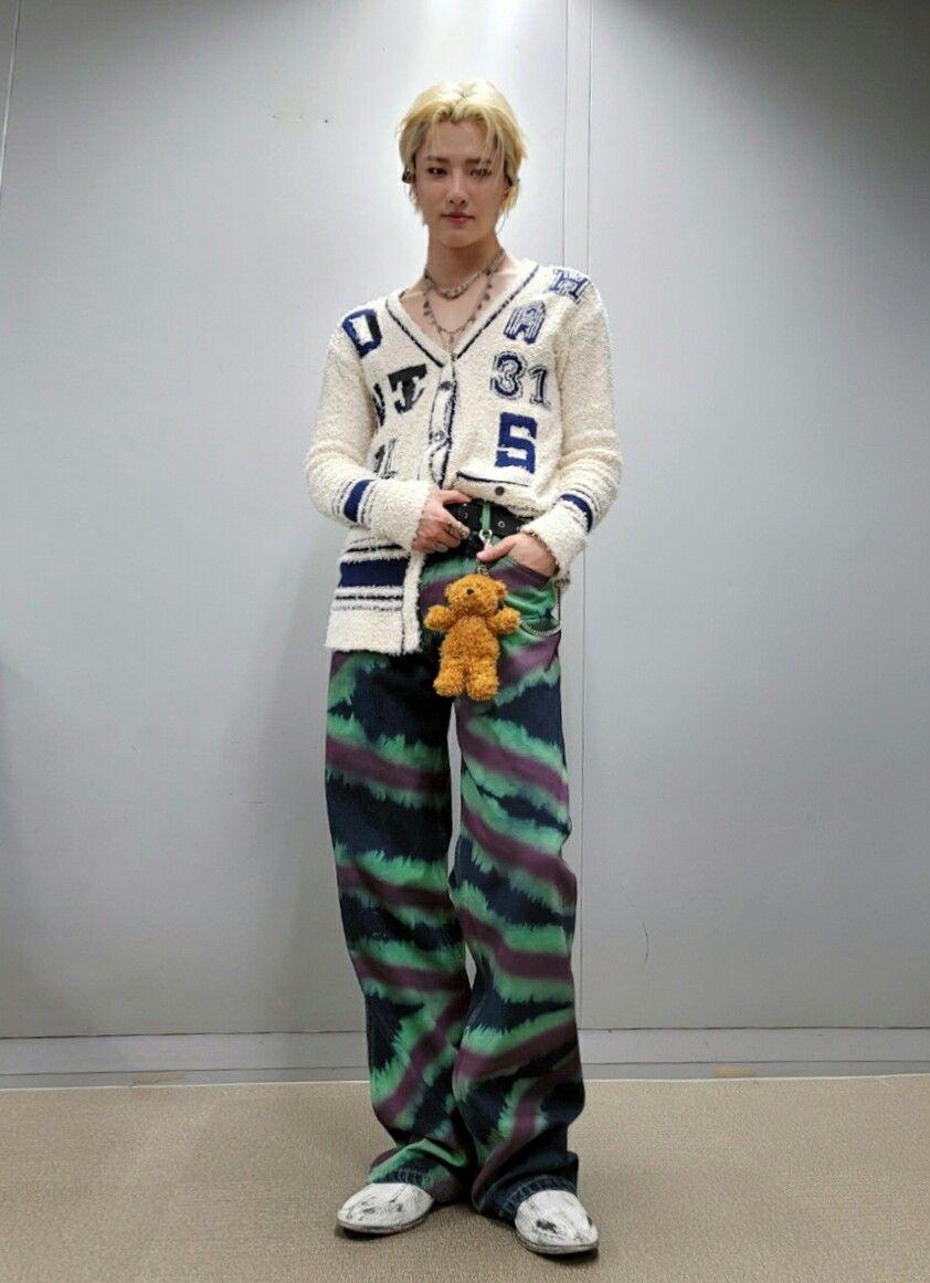 bump choseungyoun woodz ファッションコーデ スンヨン ウッズ