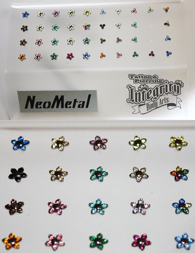 Neometal Flower and Trinity ends