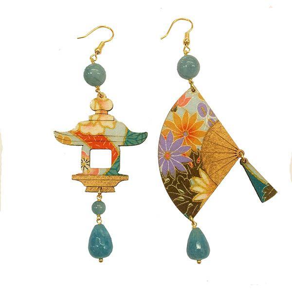 Collezione Fujiama Ventaglio e lanterna  www.gioielleriagozzoli.com  #lebolegioielli #fujiama #ventaglio