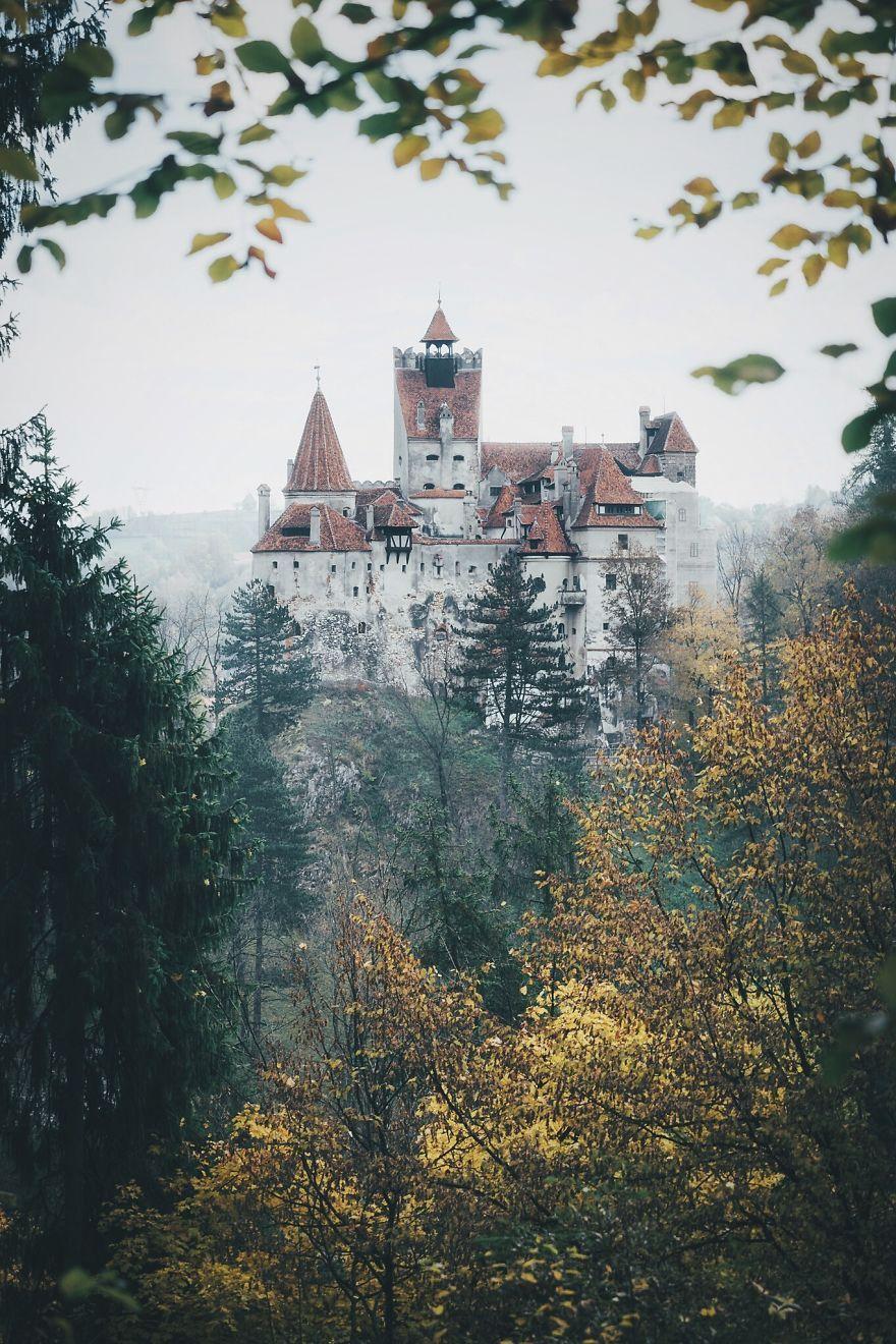 "The ""Dracula"" Castle, Bran, Romania"