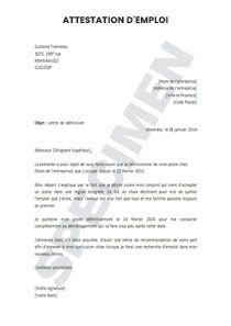 Aperçu du document   Lettre de recommandation, Lettre de démission, Changement adresse