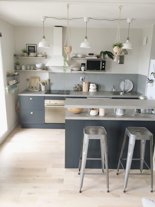 www.homebymarie.com cuisine rénovée avec les peintures ...