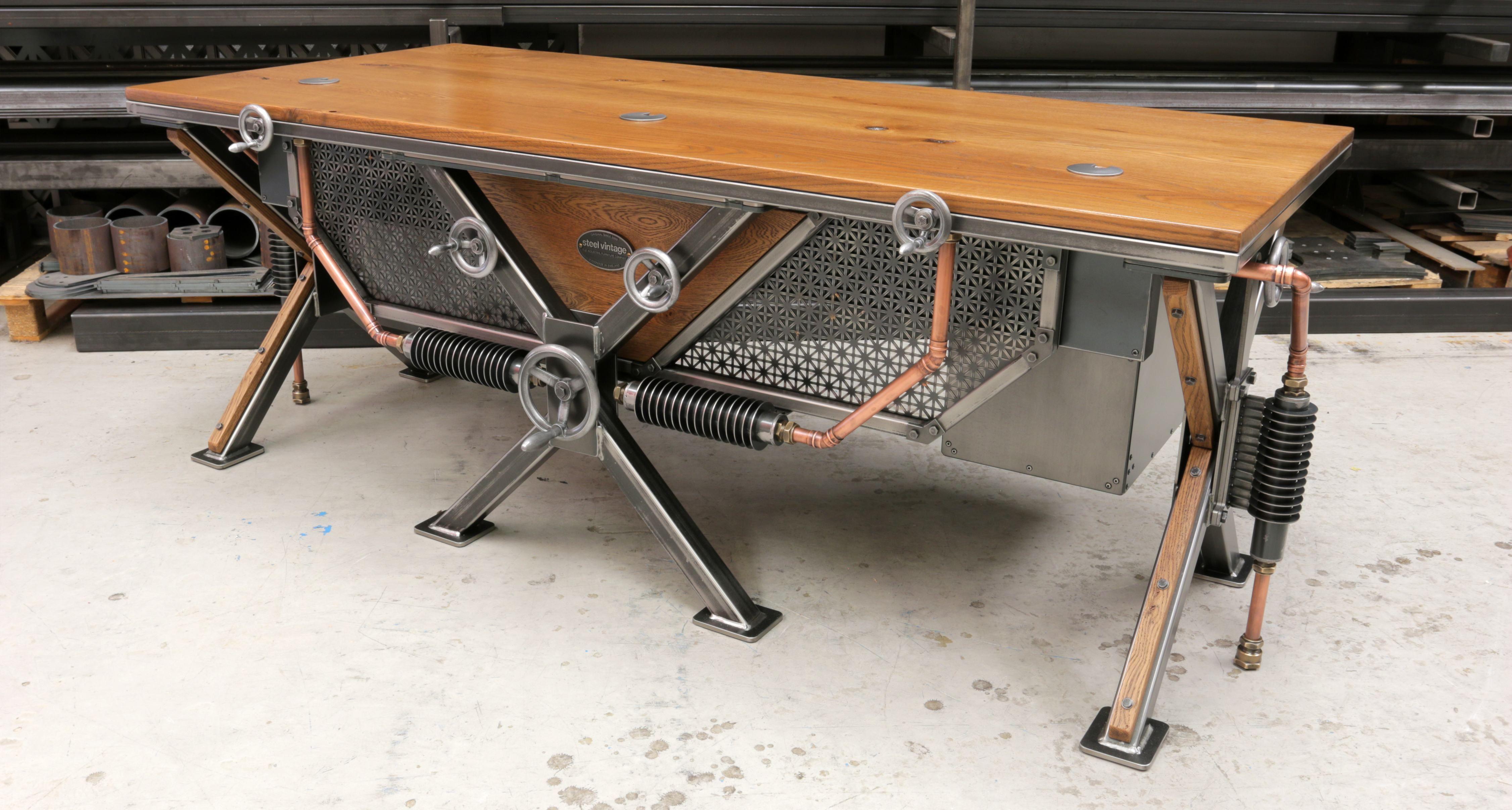 The Steampunk Desk Meuble