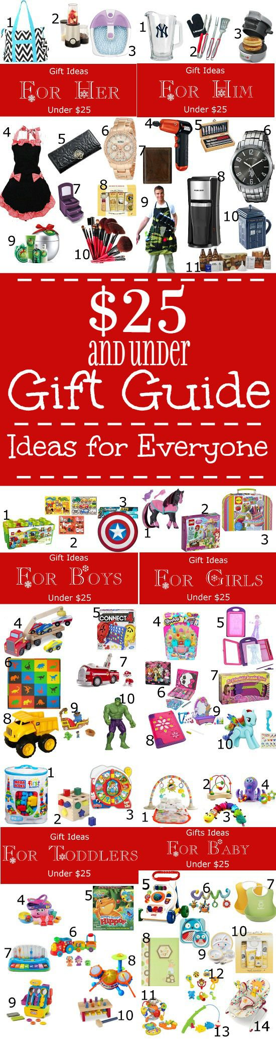 25 Gift Guide for EVERYONE Diy gifts for him, Christmas