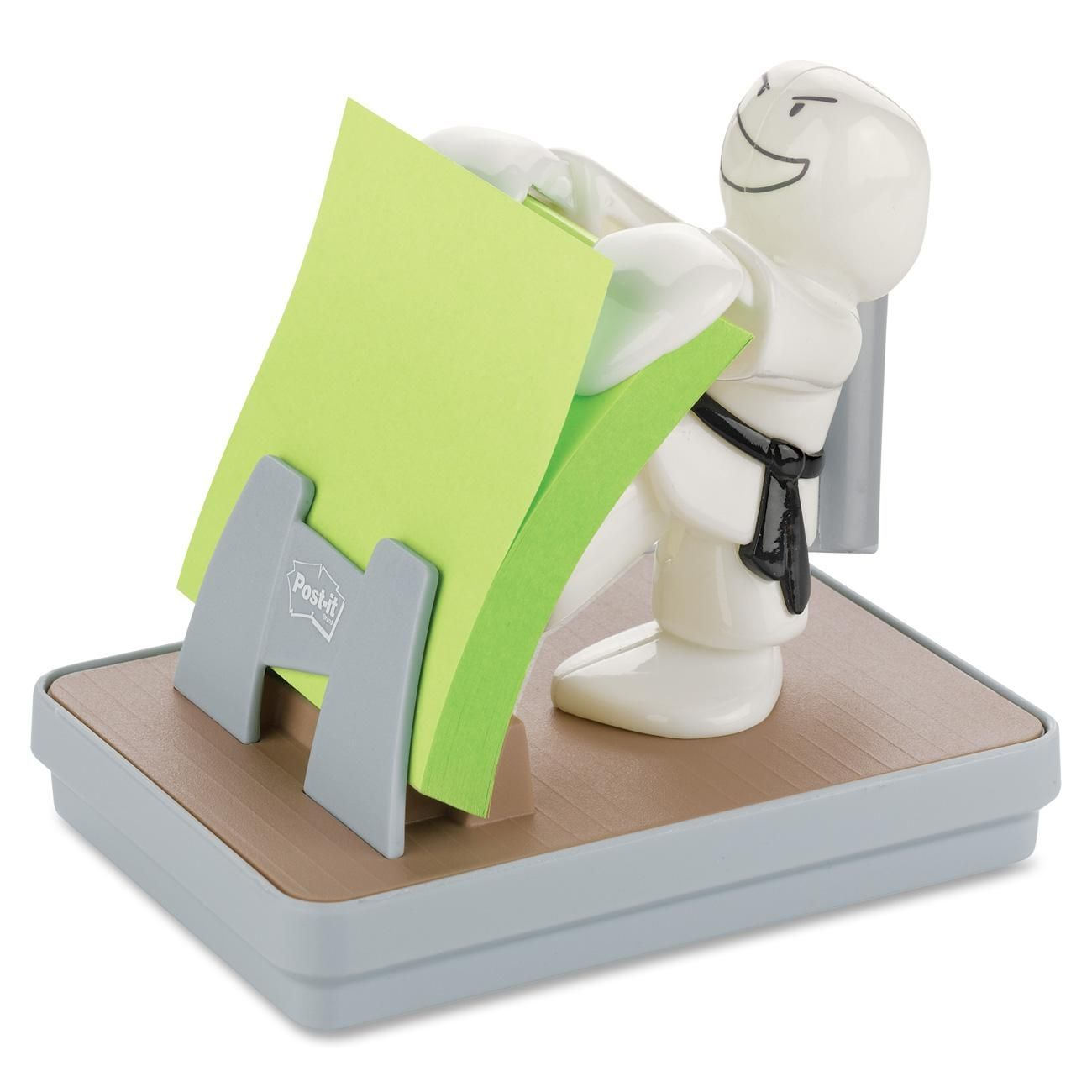 Post-it Pop-up Notes Dispenser Black Purse W Sheets Cute Desk Office Accessories