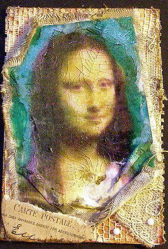 Mamma Mona Lisa Found In Grandmas Attic With Images Mona Lisa Image Transfer Lisa S