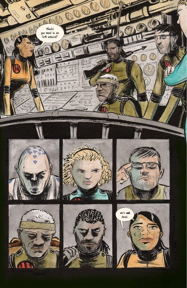 Preview: Dept. H #4, Dept. H #4  Story: Matt Kindt Art: Matt Kindt Cover: Matt Kindt Publisher: Dark Horse Publication Date: July 20th, 2016  Price: $3.99  With ...,  #All-Comic #All-ComicPreviews #Comics #DarkHorse #Dept.H #MattKindt #previews