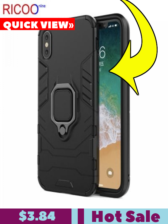 coque iphone xs max avec ring