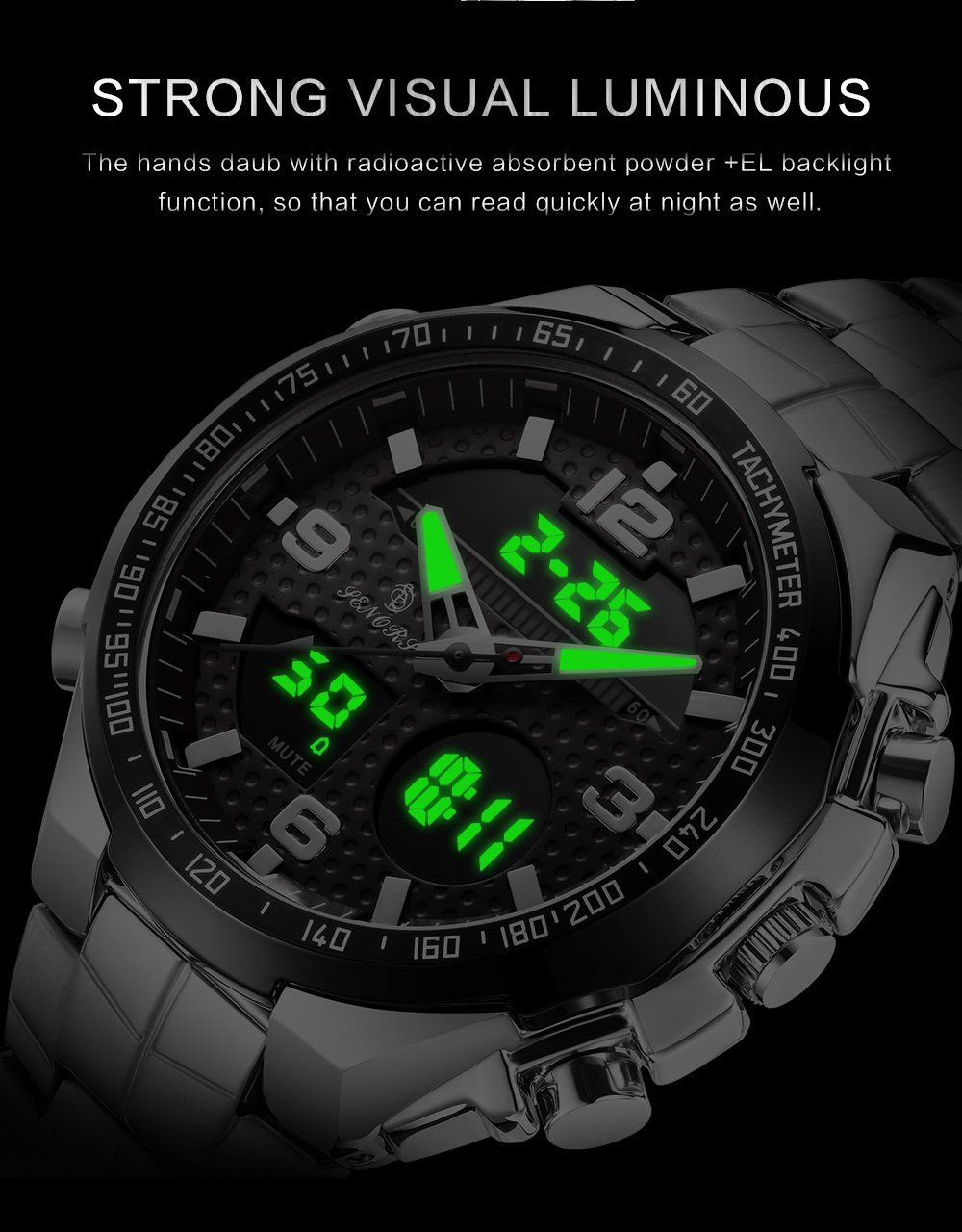 2019 Wholesale Mens Watches Dual Display From China Watches For