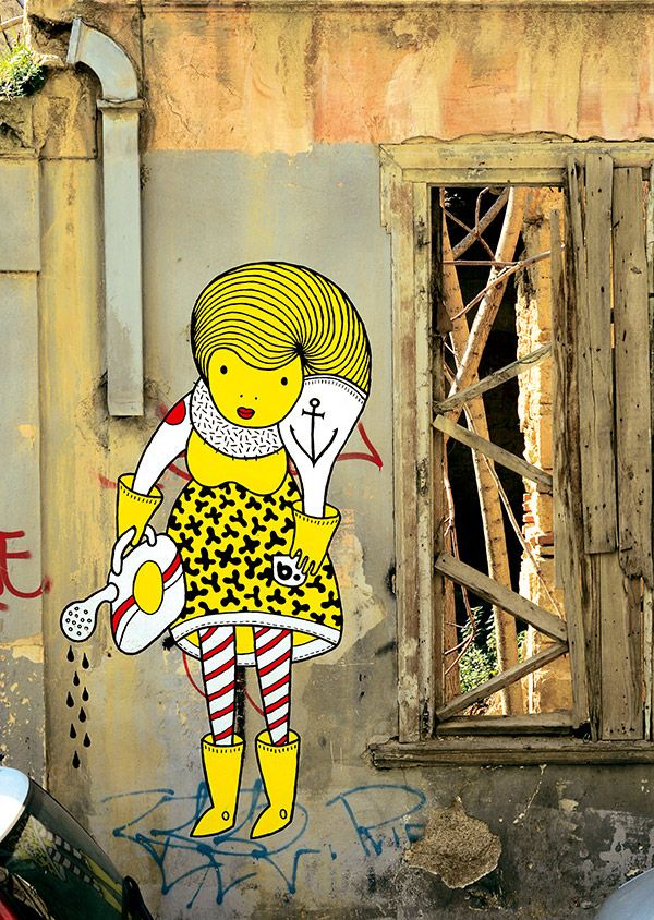 an interview with the street artist b. | Breath on Glass | Pinterest ...