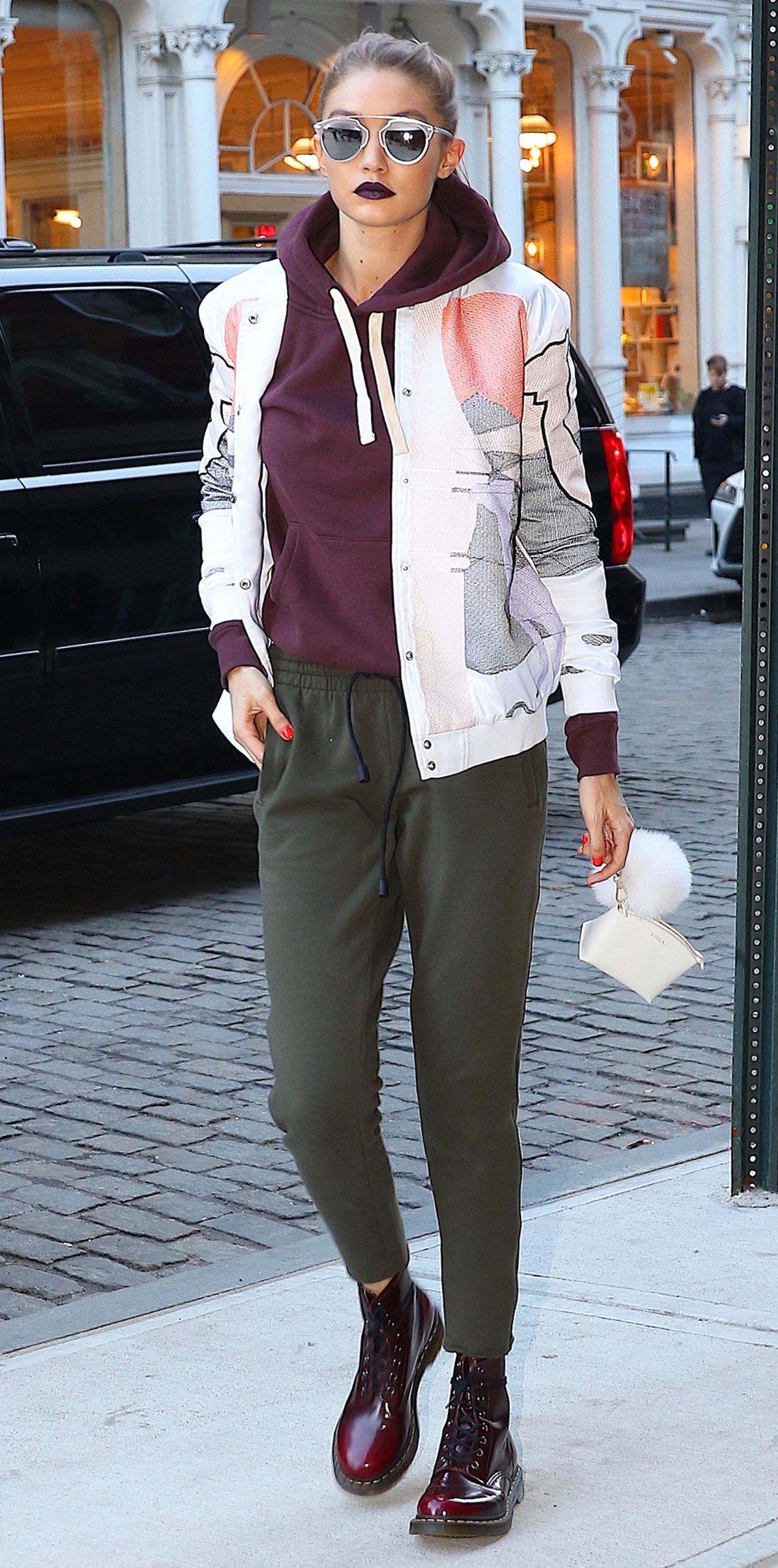 e110834ad0d Gigi Hadid s Best Street Style Moments - March 29
