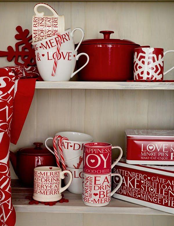 M S Mugs And Tins For Christmas Christmas Mugs Christmas Dinnerware Christmas Tableware