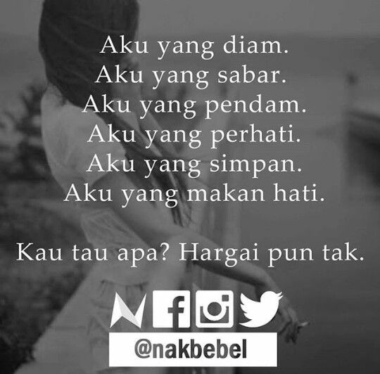 Pin By Phylesyana Joan On Malay Quotes With Images Quotes Ego