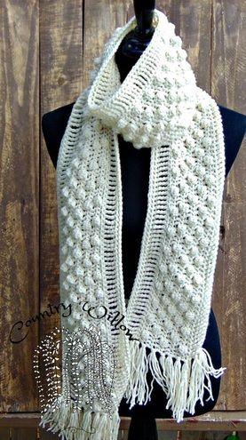 Free Crochet Pattern - Bobbin Along Scarf | Gehäkelten schal ...