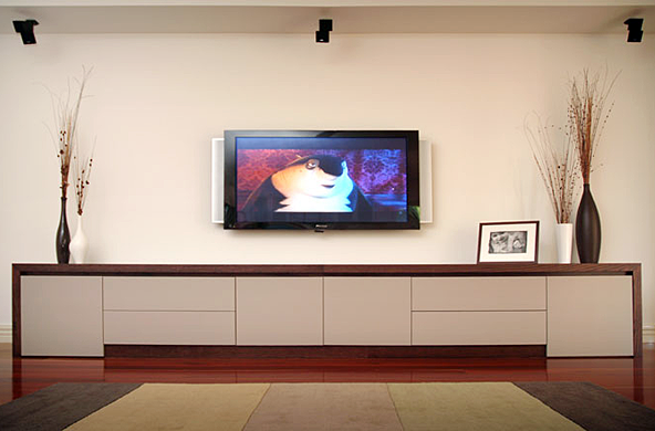Free Standing Entertainment Units