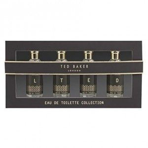 Ted Baker Limited Edition Eau De Toilette Collection Aftershaves 4 x 10ml Bottles