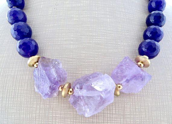 21d4661b18d4 Púrpura collar de jade