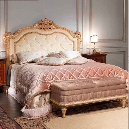 . Classic wood carving bed furniture 022   Decorative mirrors in 2019