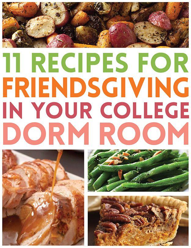 11 Easy Recipes For Friendsgiving In Your College Dorm Dorm - college