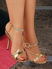 What girls high heels nude women