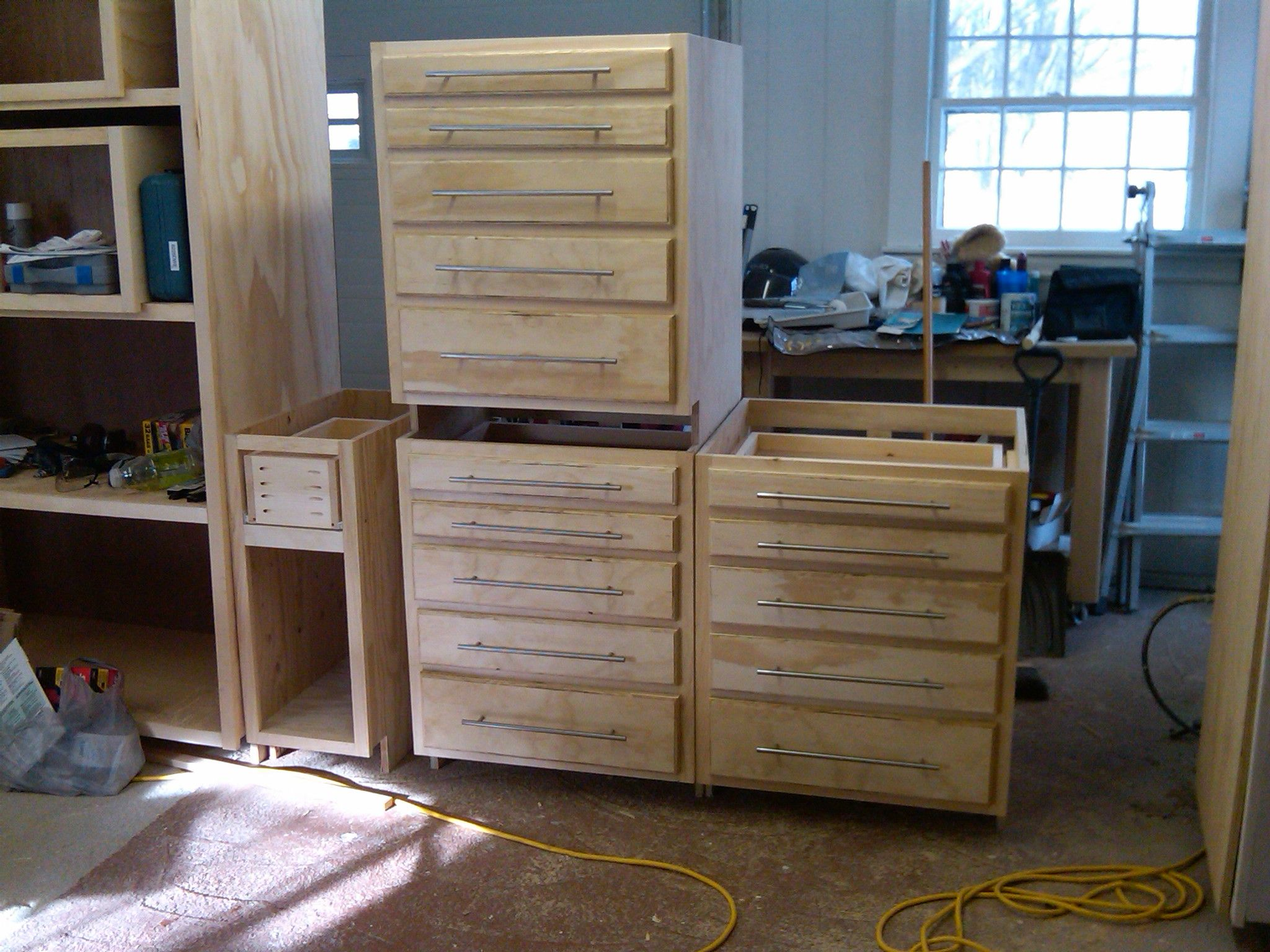 New Cabinets For My Workshop S Tool Crib Kreg Owners Community New Cabinet Workshop Tool Storage Cabinets