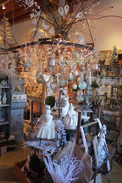 52 FLEA Christmas Carole and Her Shop at Maynard Greenhouse