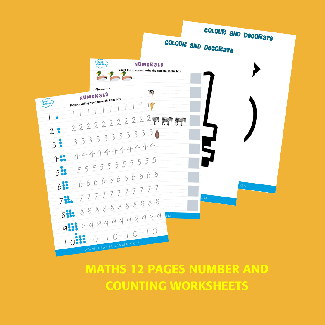 Worksheets And Lessons For School At Home In