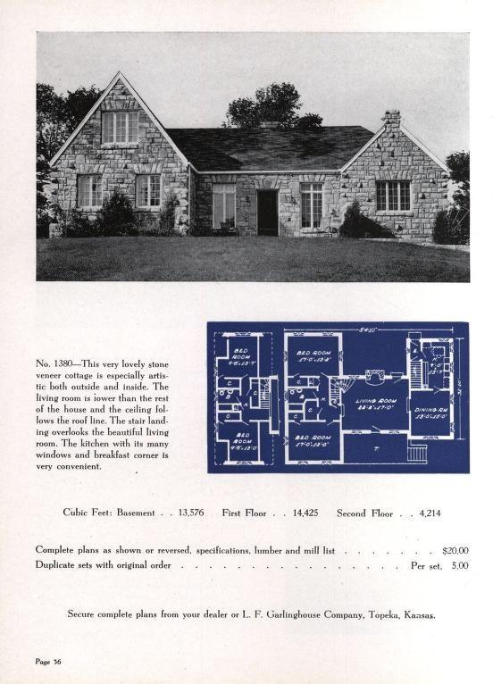 Artistic Homes 6th Ed Vintage House Plans Architectural Prints House Floor Plans