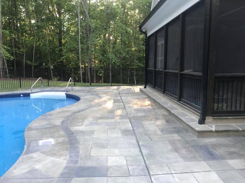 Cti Durafleck System Concrete Decor Concrete Floors Decor