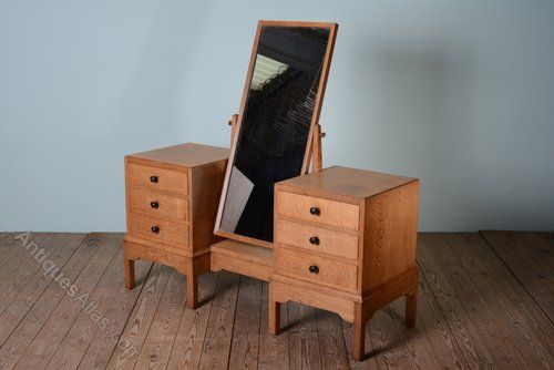 1930's Gordon Russell Dressing Table & Stool - Antiques Atlas