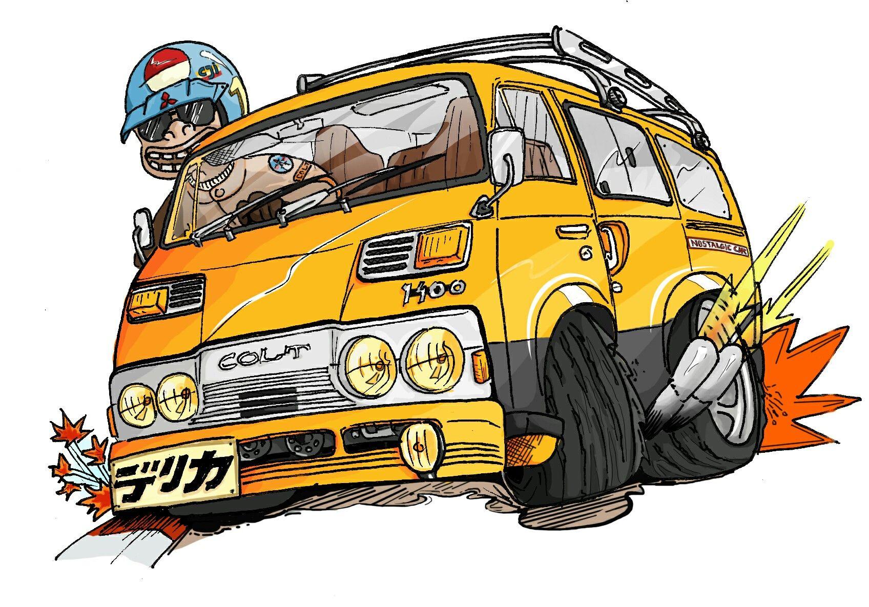 Pin Oleh Sam Chen Di Custom Van Karya Seni 3d Mobil Seni 3d