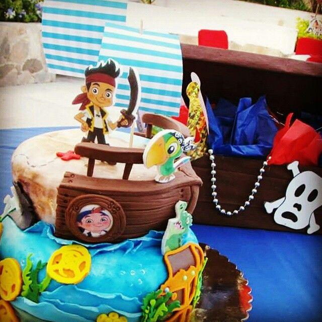Jake y los piratas.