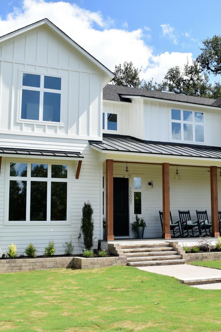 the best white modern farmhouse exterior paint colors on industrial farmhouse paint colors id=17052