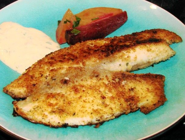 How to make breadcrumbs for fish