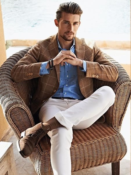 men's fashion & style - Scapa S/S 2015