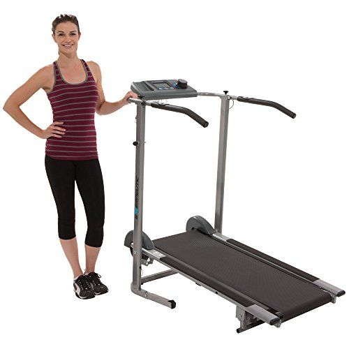 Exerpeutic 100xl High Capacity Magnetic Resistance Manual Treadmill With Heart Pulse System Treadmill Reviews Treadmill Workout Machines