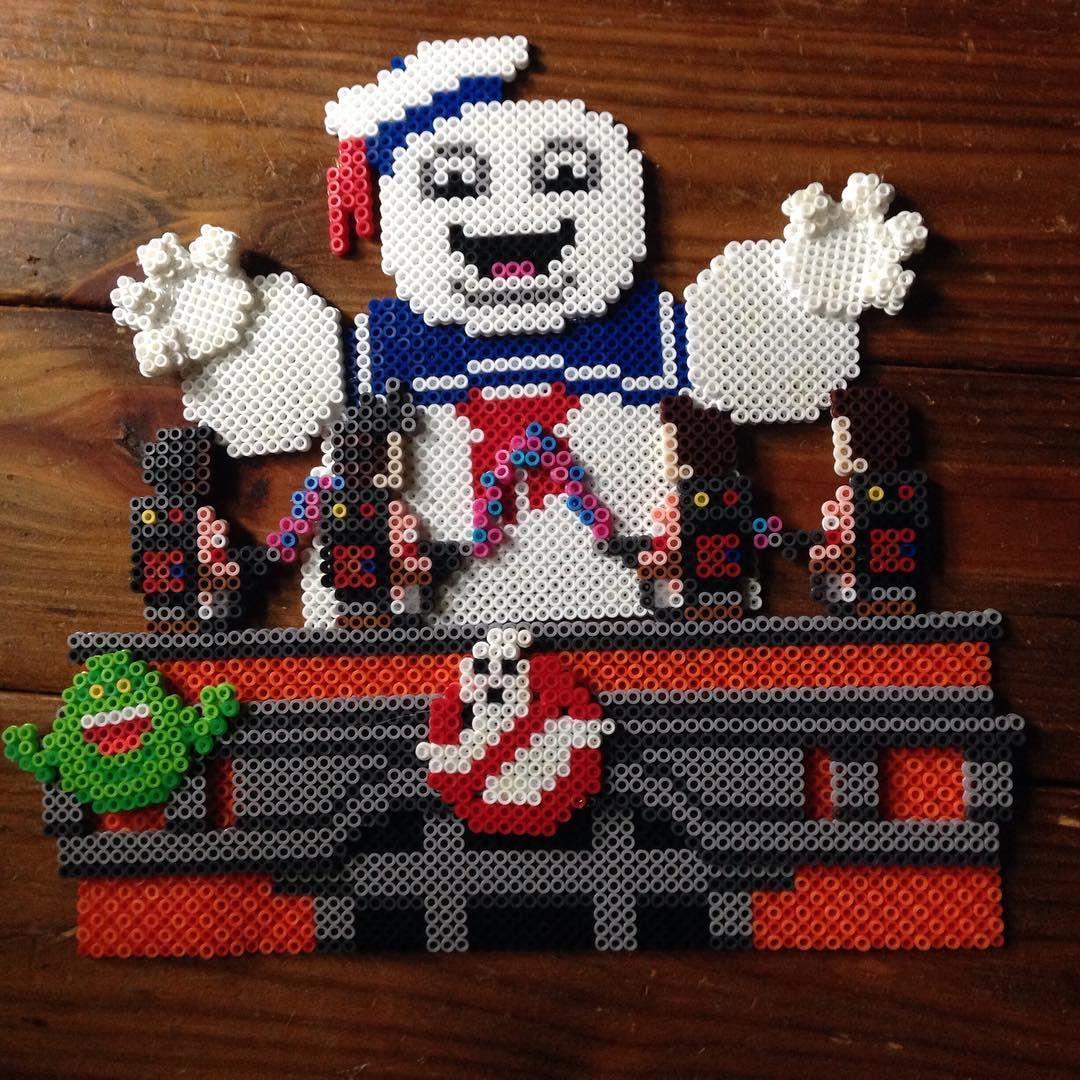 Ghostbusters Perler Beads By Orangeambu Perler Bead Projects