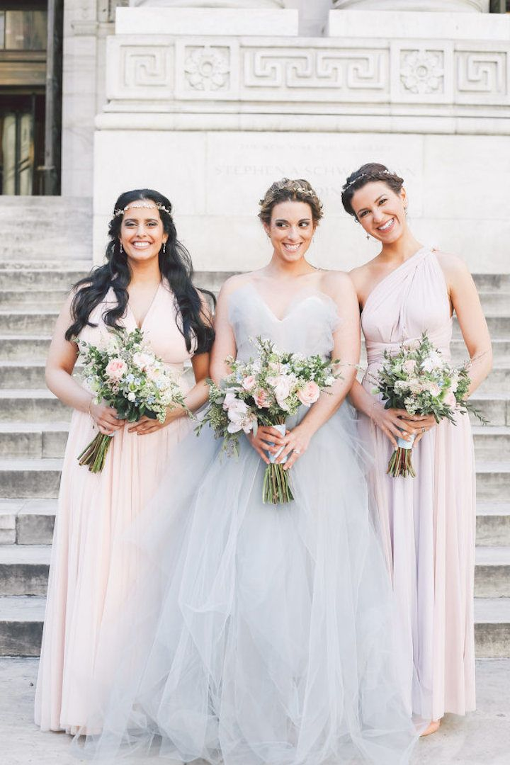 Whimsical And Boho Chich New York Wedding