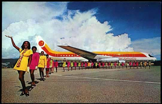 On this day in Jamaican history Air Jamaica is born Vintage Ads