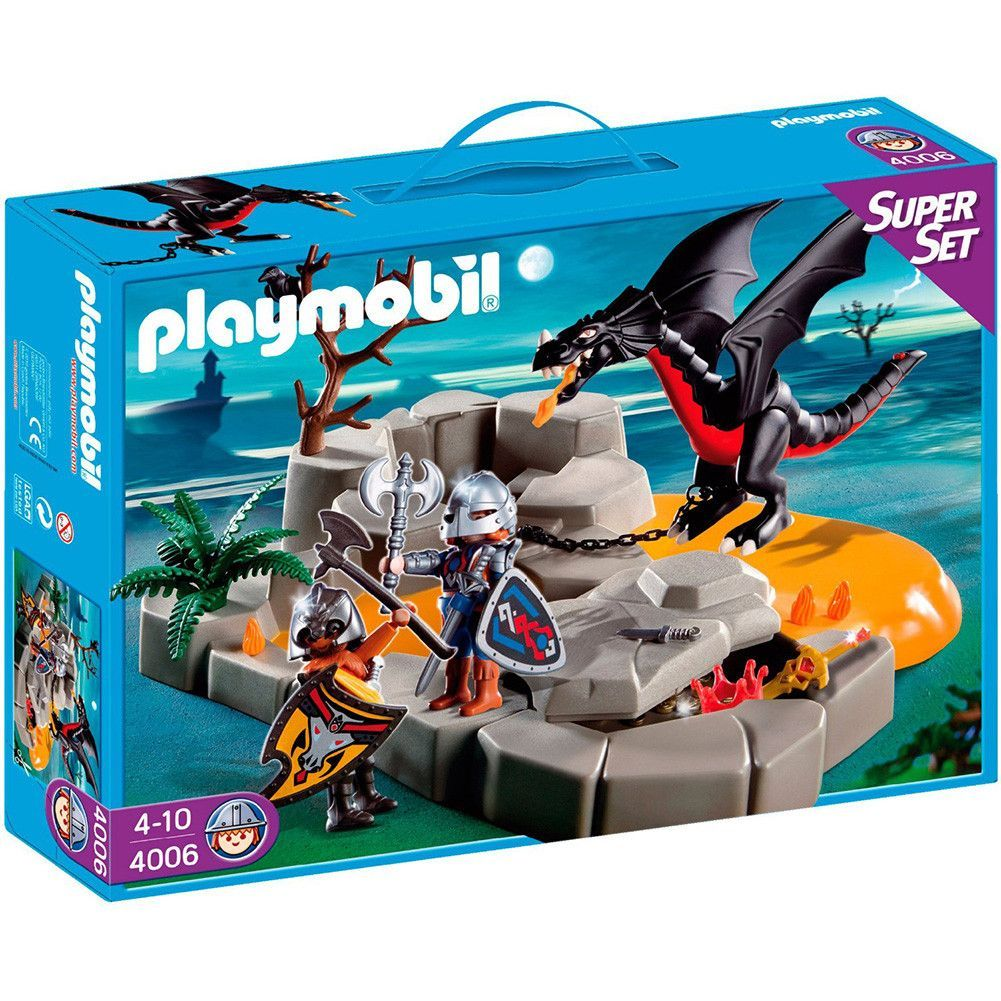 playmobil dragon 39 s lair 4006 playmobil dragons and knight. Black Bedroom Furniture Sets. Home Design Ideas
