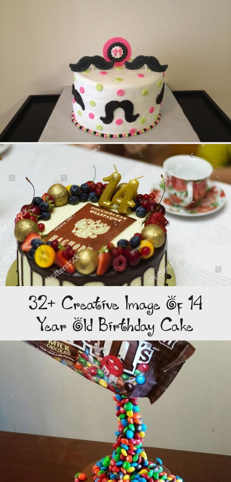 32 creative image of 14 year old birthday cake in 2020