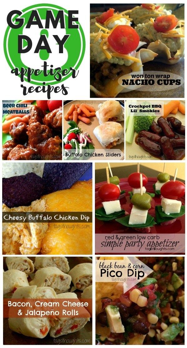 8 Game Day Super Bowl Party Appetizer Recipes Meat Lovers
