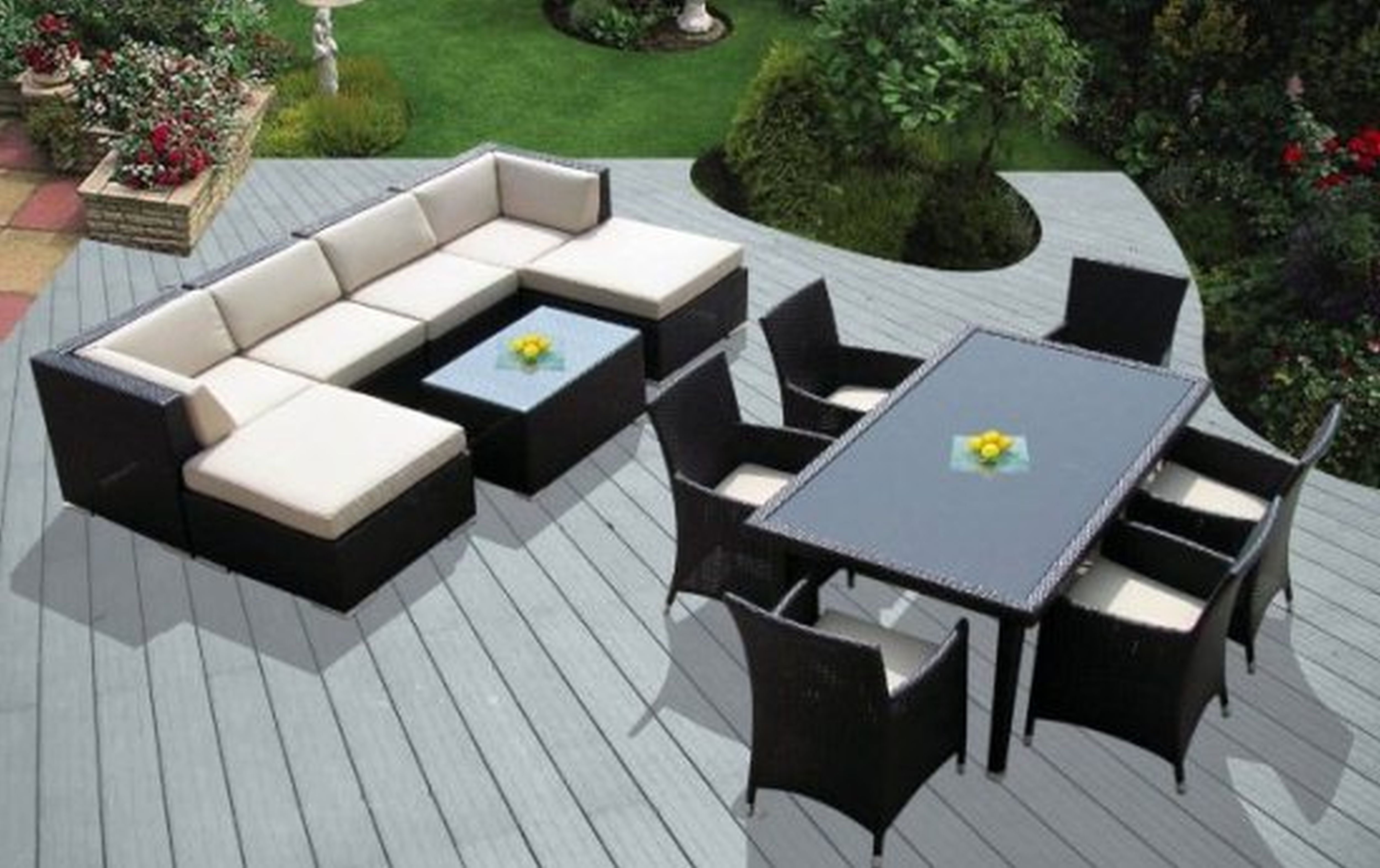 Stupendous Astonishing White U Shape Outdoor Sectional In Inspiring Andrewgaddart Wooden Chair Designs For Living Room Andrewgaddartcom