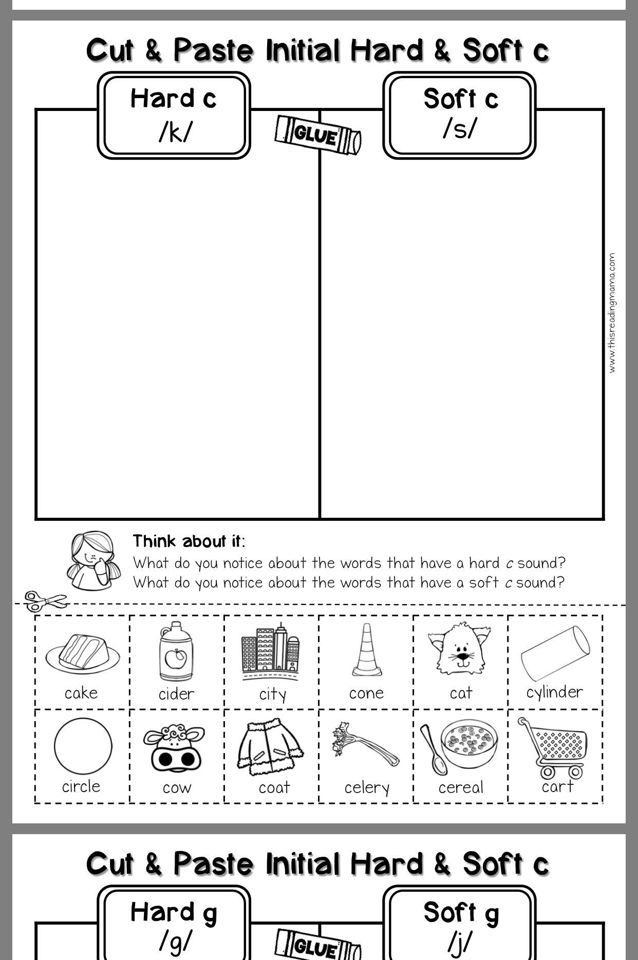 St Patrick S Day Kindergarten Printables Free Phonics Kindergarten Kindergarten Reading Phonics