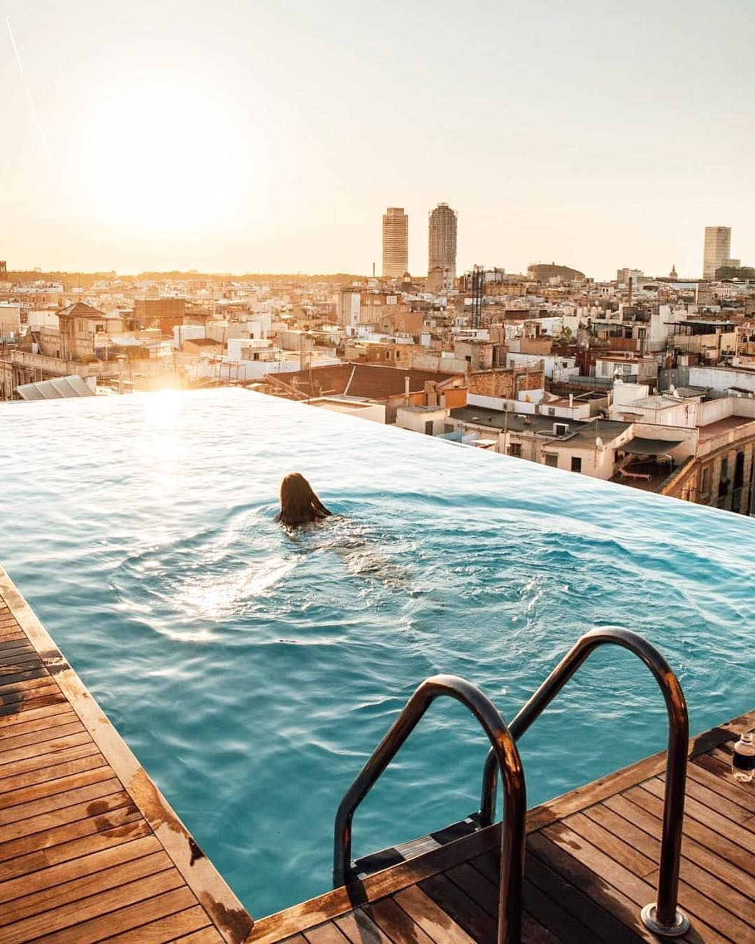Grand Hotel Central Barcelona | Rooftop pool, Pool, Pool picture
