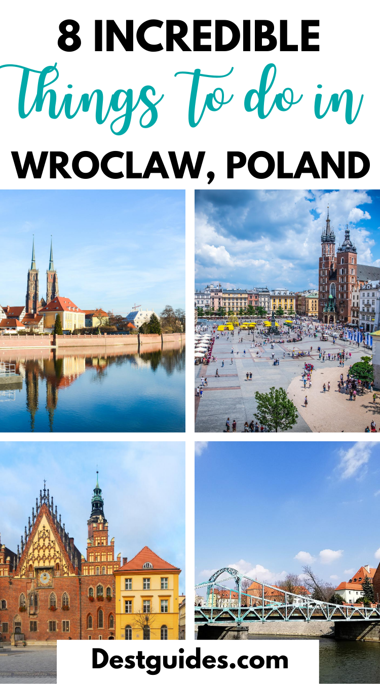 Planning a trip to Poland? Discover the best things to do in Wroclaw Poland with this guide that includes where to get spectacular views of the city, where to learn about Wrocław's history, where to drink the best hot chocolate and more! | Wroclaw Poland travel | #Polandtravel #Wroclaw #Poland #travel #Destguides