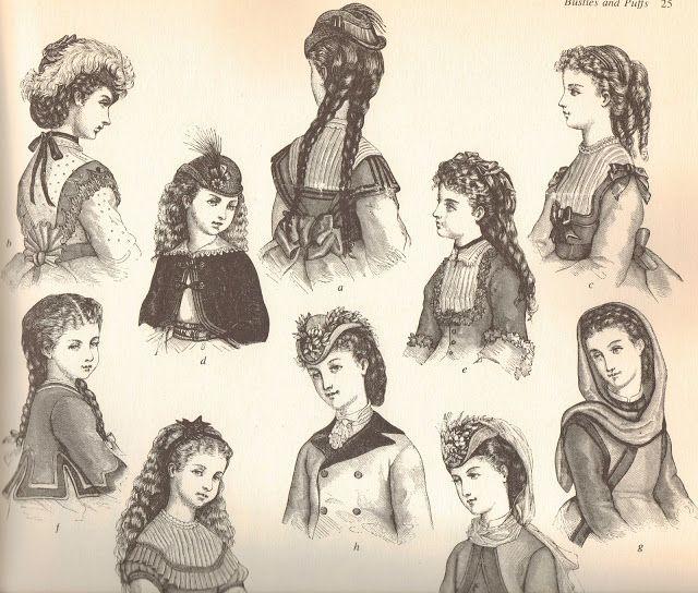 Victorian Nonsense Victorian Hairstyles Victorian Era Hairstyles Edwardian Hairstyles